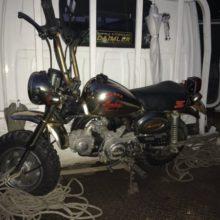 西阿倉川にてバイク買取 モンキー(6V) 長期放置の写真