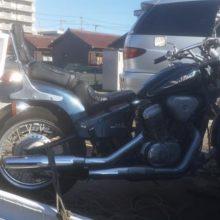 四日市市十七軒町 バイク買取 実績 STEED400 長期放置の写真