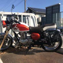 四日市市桜台 バイク買取 エストレア(2007年)出張買取の写真