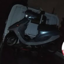 四日市市垂坂町 バイク引き取り 原付ベーシックジョグ 長期放置の写真