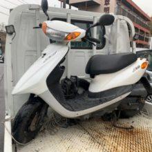 四日市市中村町 バイク買取 原付ジョグ(SA39) 不動車の写真