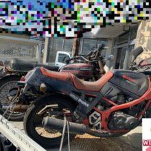 雨ざらしバイク買取です。の写真