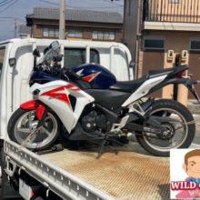 松阪市上川町 バイク買取 HONDA CBR250R(MC41)転倒傷ありの写真