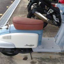 四日市市西浜田 バイク回収 原付ジュリオ買取の写真