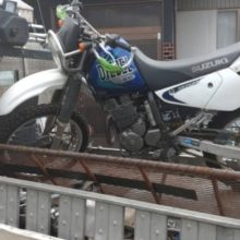 弥富市寛延オフロードバイク買取しました ジェベル250XCの写真