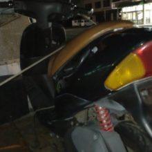 桑名市多度 バイク廃車 原付レッツ2 エンジン焼き付きの写真